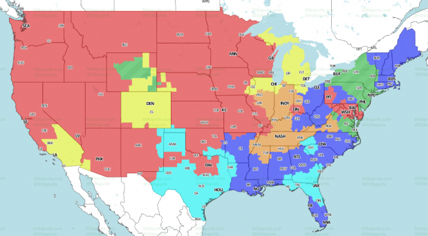 CBS Coverage Map