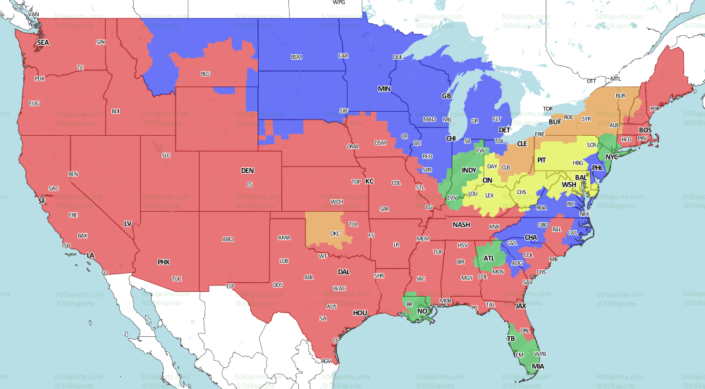 NFL on CBS week 10 CBS Single-Header Games