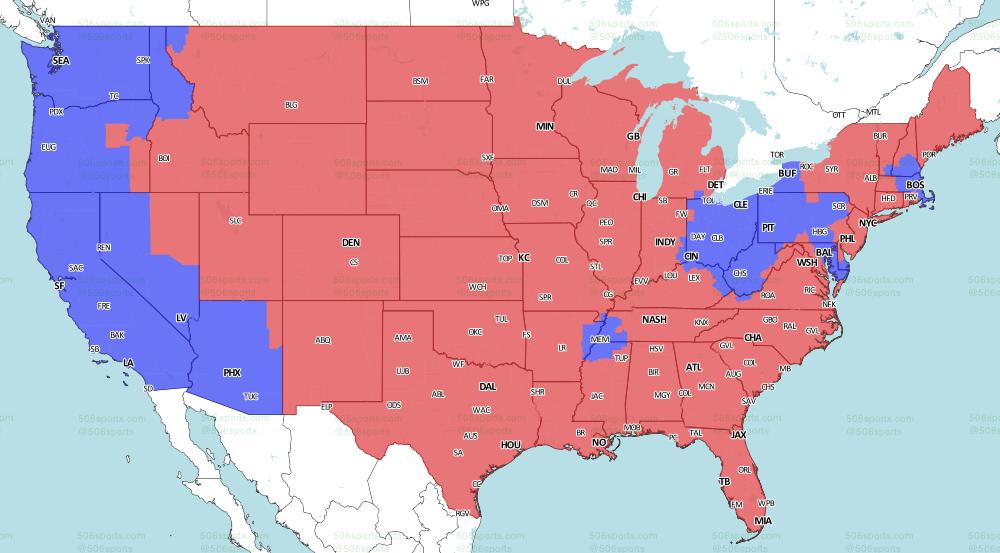 NFL on Fox week 10 late games