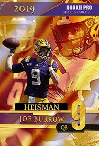 2019 JOE BURROW LSU Tigers - HEISMAN Rookie Pro - College Football Rookie Card $6.99