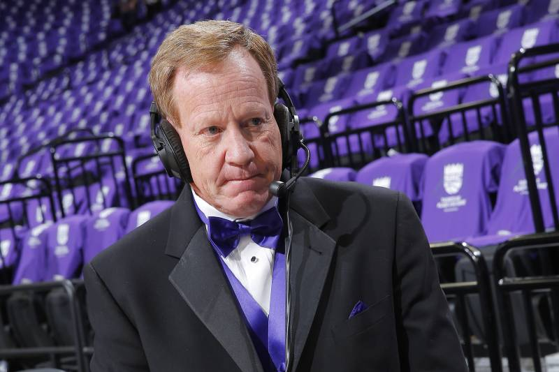 Sacramento Kings Play-By-Play and Radio Host Grant Napear